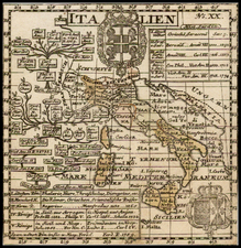 Italy Map By Anonymous