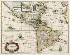 America Map By Matheus Merian