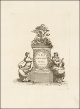 Title Pages and Curiosities Map By Vincenzo Maria Coronelli