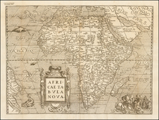 Africa and Africa Map By Francois De Belleforest
