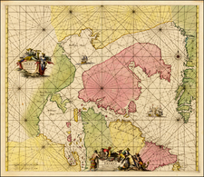 Polar Maps and Canada Map By Frederick De Wit