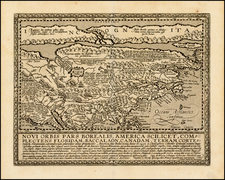 Polar Maps, North America and Canada Map By Matthias Quad