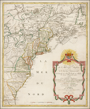 United States and Canada Map By Mathais Albrecht Lotter