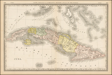 Caribbean Map By Rand McNally & Company