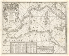 Italy and Mediterranean Map By Francois Berthelot
