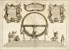 Celestial Maps and Curiosities Map By Vincenzo Maria Coronelli