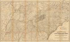 United States Map By Ferdinand Mayer & Co.
