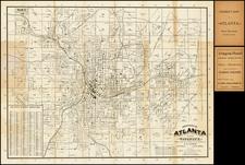 Southeast Map By William A. Flamm / E.B. Latham