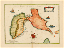 Caribbean and Other Islands Map By Pierre Mariette