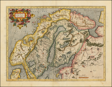 Scandinavia Map By Gerhard Mercator