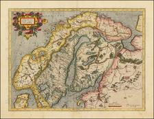 Scandinavia Map By Gerhard Mercator