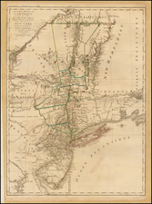 Mid-Atlantic Map By George Louis Le Rouge / Claude Joseph Sauthier / Bernard Ratzer