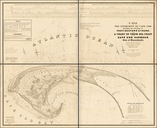 New England Map By United States Bureau of Topographical Engineers