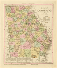 Southeast Map By Henry Schenk Tanner
