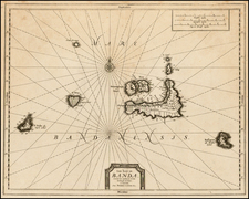 Southeast Asia and Other Islands Map By Pieter van der Aa