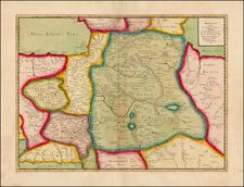Central Asia & Caucasus and Turkey & Asia Minor Map By Philippe de la Rue