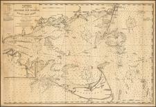 New England and Massachusetts Map By George Eldridge