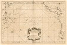 Australia & Oceania, Pacific, Australia and Oceania Map By Depot de la Marine