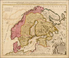 Scandinavia Map By Peter Schenk