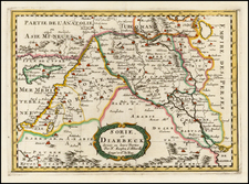 Balearic Islands, Central Asia & Caucasus and Holy Land Map By Nicolas Sanson