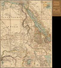 Middle East, Egypt and North Africa Map By Artaria & Co.