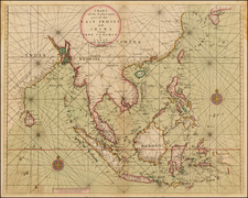 China, India, Southeast Asia, Philippines and Other Islands Map By Thomas Page  &  Richard Mount