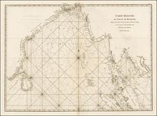 Indian Ocean, India & Sri Lanka, Southeast Asia and Other Islands Map By Jean-Baptiste-Nicolas-Denis d'Après de Mannevillette
