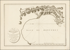 California Map By Jean Francois Galaup de La Perouse