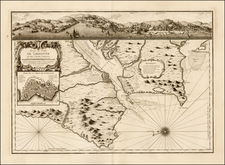 Portugal Map By Jacques Nicolas Bellin