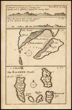 Southeast Asia, Philippines and Other Islands Map By William Dampier