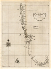 Scandinavia and Norway Map By Robert Dudley