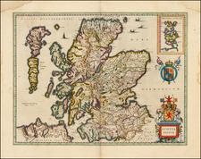 Scotland Map By Willem Janszoon Blaeu