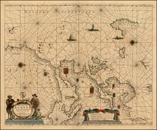 Atlantic Ocean, Europe and Europe Map By Henrdick Doncker
