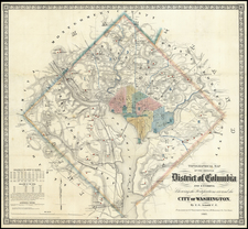 Mid-Atlantic Map By E.G. Arnold