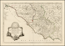 Northern Italy and Southern Italy Map By Paolo Santini