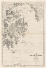 China Map By U.S. Hydrographical Office