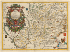 Poland and Czech Republic & Slovakia Map By Vincenzo Maria Coronelli