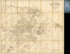 Scotland Map By W. & A.K. Johnston
