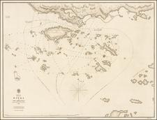 Alaska Map By British Admiralty