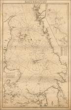 Sweden and Denmark Map By Kongelige Danske Søkort-Arkiv
