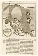 Atlantic Ocean, Canada, Europe, Europe, British Isles and Scandinavia Map By Athanasius Kircher