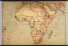 Africa and Africa Map By Rand McNally & Company