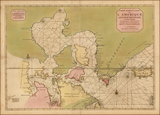 Polar Maps, Atlantic Ocean and Canada Map By Pieter Mortier