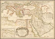 Ukraine, Balkans, Turkey, Mediterranean, Middle East and Turkey & Asia Minor Map By Alexis-Hubert Jaillot