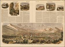 Southwest and Rocky Mountains Map By Harper's Weekly