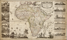 Africa and Africa Map By Henry Overton