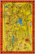 Rocky Mountains Map By Lindgren Brothers