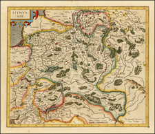 Poland and Baltic Countries Map By Rumold Mercator