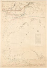 Southeast Asia, Other Islands and Australia Map By Matthew Fontaine Maury