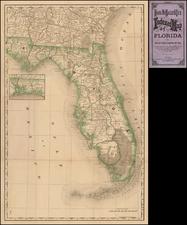 Florida Map By Rand McNally & Company